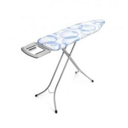 Tavolo da stiro con Poggiaferro Solid, 124x38, telaio 22mm Metallic Grey PerfectFlow T 101205