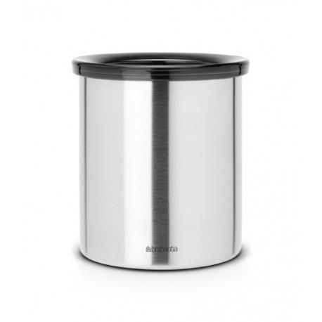Mini Table Bin, cop. in plastica Inox Satinato 371424