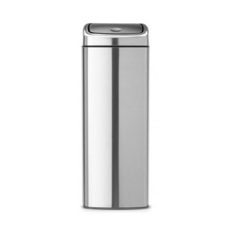Pattumiera Touch Bin 25L Rectangular, anti-impronte Inox Satinato FPP 384929
