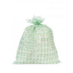 Compostable Bin Liner C rotolo da 10 sacchetti rifiuti 10/12L Verde 419782