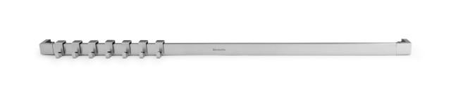 Brabantia barra a muro 60 cm con 7 ganci in acciaio inox - Appendi utensili da cucina ...