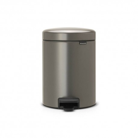Pedal Bin New Icon 5L Platinum 112683