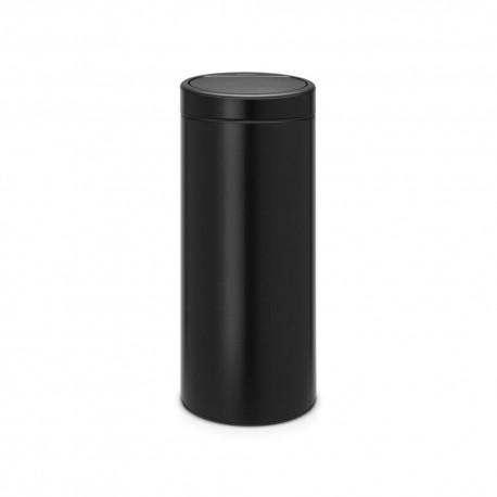 Pattumiera Touch Bin New, 30 litri, apertura soft-touch, secchio interno in plasticanero opaco