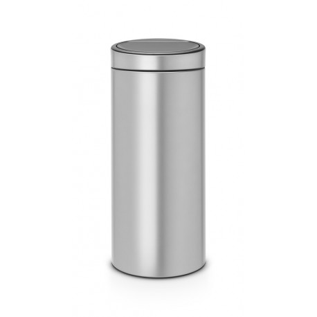 Touch Bin New 30L Metallic Grey