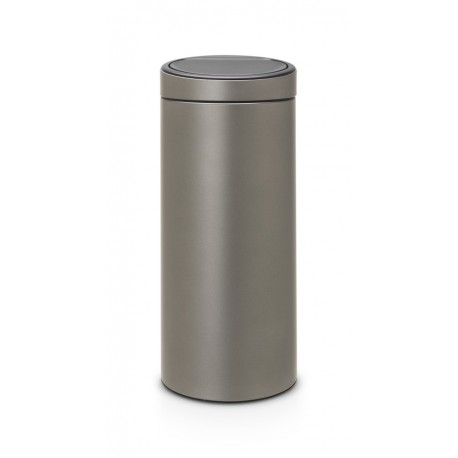 Touch Bin New 30L Platinum