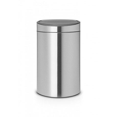 Touch Bin New Recycle 23/10L Inox Satinato