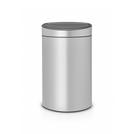 Touch Bin New 40L Metallic Grey