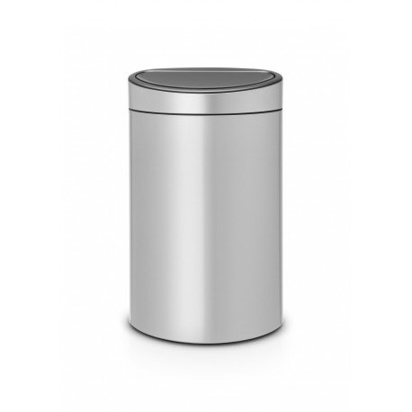 Touch Bin New 40L Metallic Grey