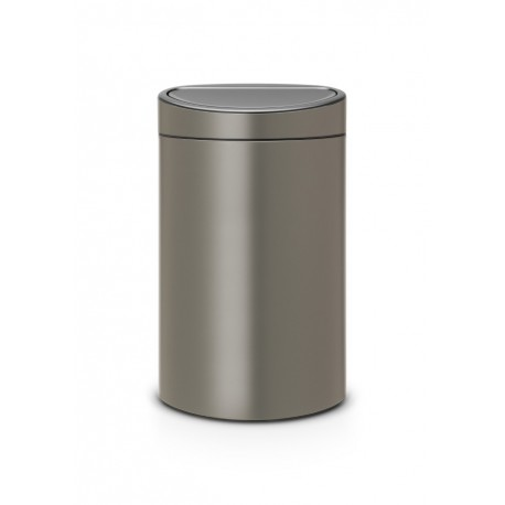 Touch Bin New 40L Platinum