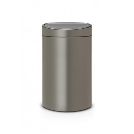 Touch Bin New 40L Platinum