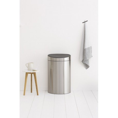 Touch Bin New 40L Inox Satinato