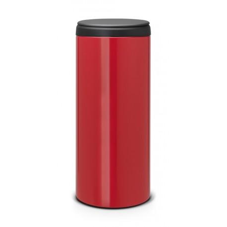 FlipBin 30L, cop. in plastica Dark Grey Passion Red