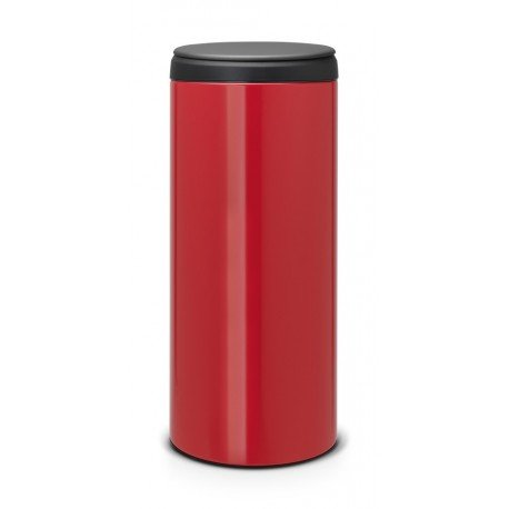 FlipBin 30L, cop. in plastica Dark Grey Passion Red