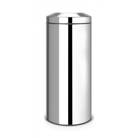 Flameguard Paper Bin 30L - secchio in metallo Inox Lucido