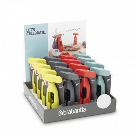 Levatappo - in display da 16 pezzi, 4 colori Tasty Colours Mixed