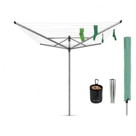Lift-O-Matic 50 metri cm. include picchetto zincato, mollette, portamollette, custodia Met