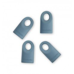 Set of 4 cappucci di ricambio in silicone Mint Accent 464027
