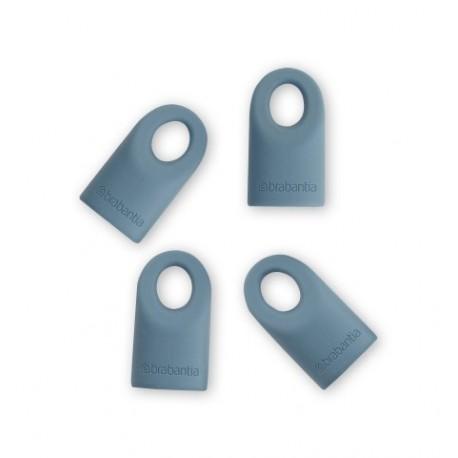 Set of 4 cappucci di ricambio in silicone Mint Accent 464027