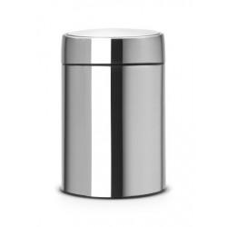 Slide Bin De Luxe 5L, anti-impronte Inox Satinato FPP 477546