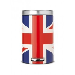 Pattumiera Pedal Bin Classic 12L limited edition Union Jack 479748