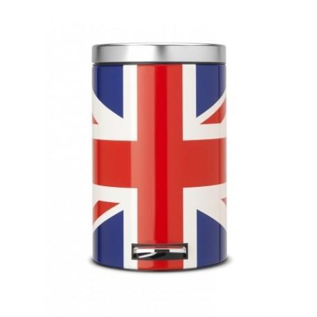 Pattumiera Pedal Bin Classic 12L limited edition Union Jack 479748