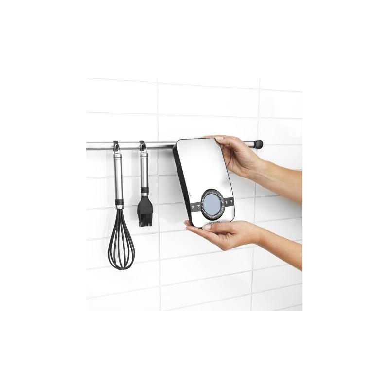Brabantia bilancia da cucina digitale 1gr 5kg rettangolare con tim - Bilancia da cucina digitale ...
