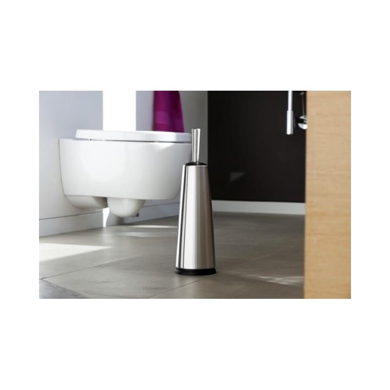 brabantia portascopino wc classic de luxe manico inox inox satinato. Black Bedroom Furniture Sets. Home Design Ideas