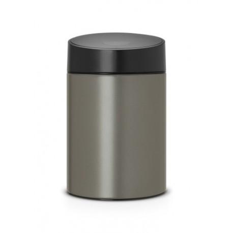 Slide Bin 5L cop. in plastica Nero Platinum 483141