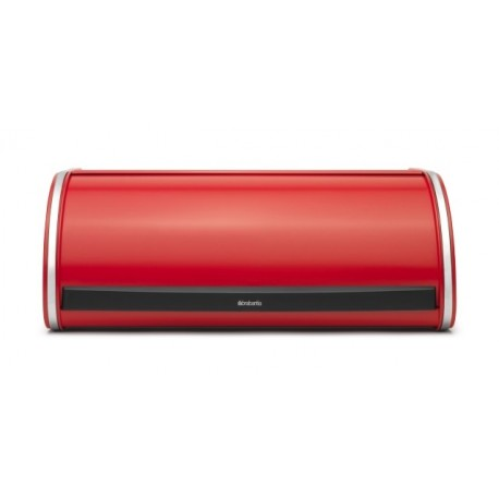 Portapane Roll Top Bread Bin apertura a scomparsa Passion Red 484001