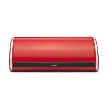 Portapane Roll Top Bread Bin apertura a scomparsa Passion Red 484001