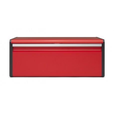 Portapane Fall Front Bread Bin apertura a ribalta Passion Red 484025