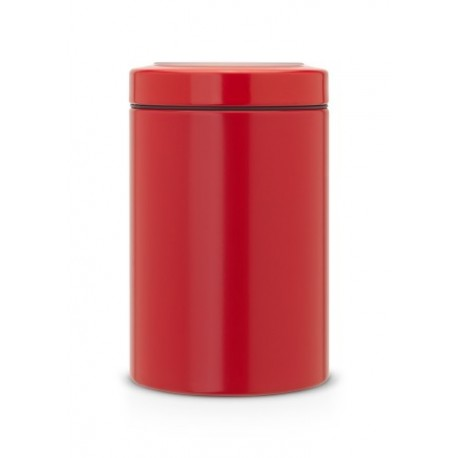 Barattolo Window Lid Canister 1.4L finestra sul coperchio Passion Red 484049