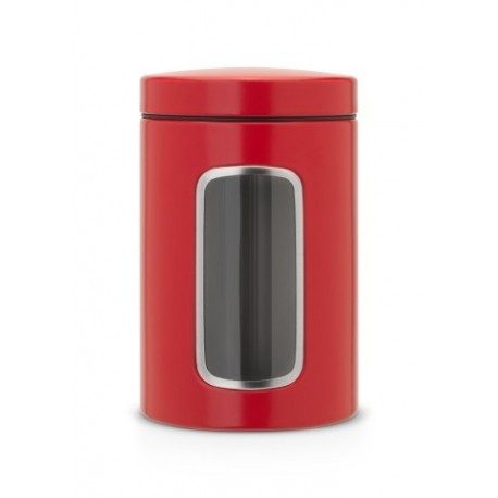 Barattolo Window Canister 1.4L finestra frontale Passion Red 484063