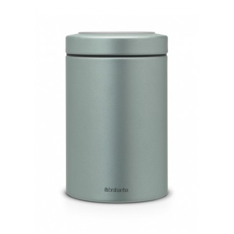 Barattolo Window Lid Canister 1.4L finestra sul coperchio Metallic Mint 484346