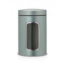 Barattolo Window Canister 1.4L finestra frontale Metallic Mint 484360