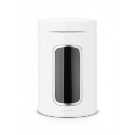 Barattolo Window Canister 1.4L finestra frontale Bianco 491009