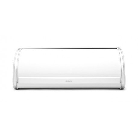 Portapane Roll Top Bread Bin apertura a scomparsa Bianco 173325