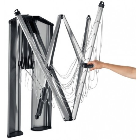 Stendibiancheria WallFix 24 metri Protection Storage Box Silver
