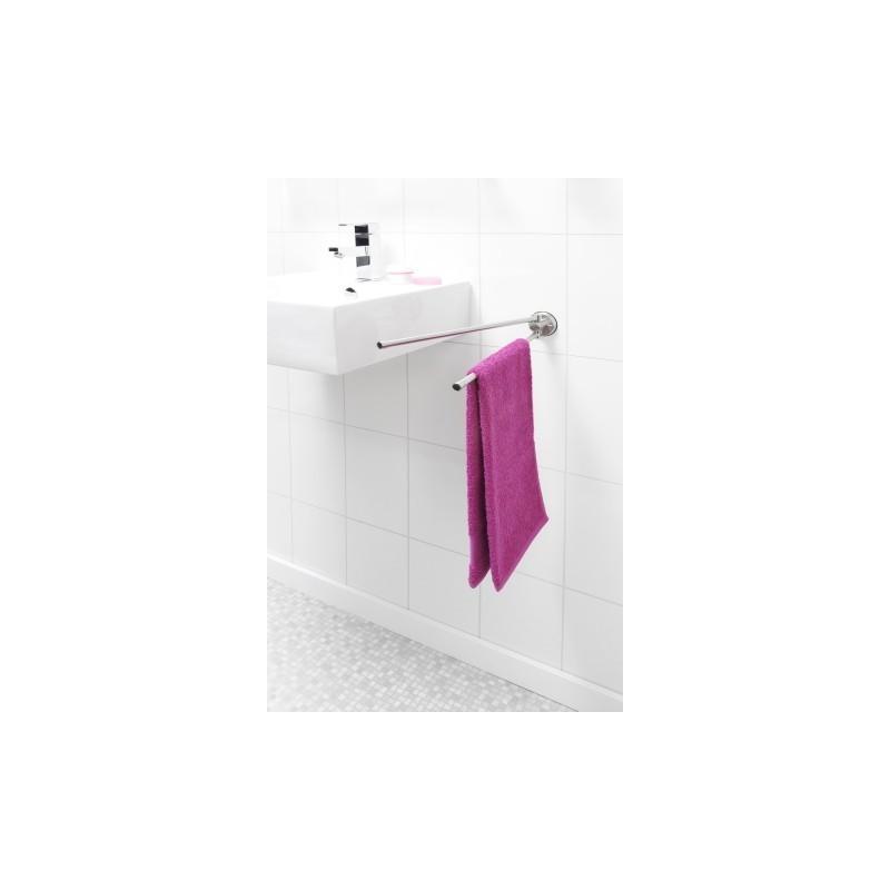 Brabantia porta asciugamani con 2 bracci mobili profile inox satina - Amazon porta asciugamani bagno ...