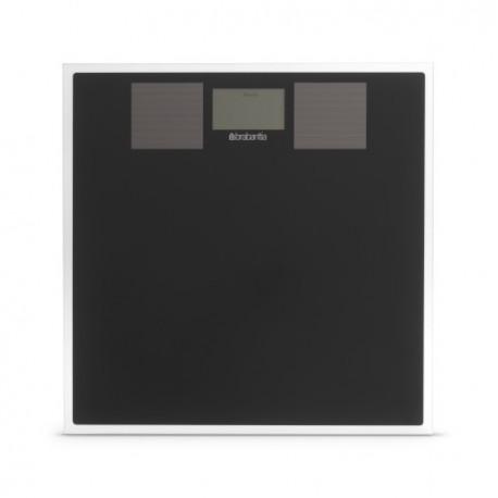 Bilancia pesapersone ad Energia Solare Nero 483103
