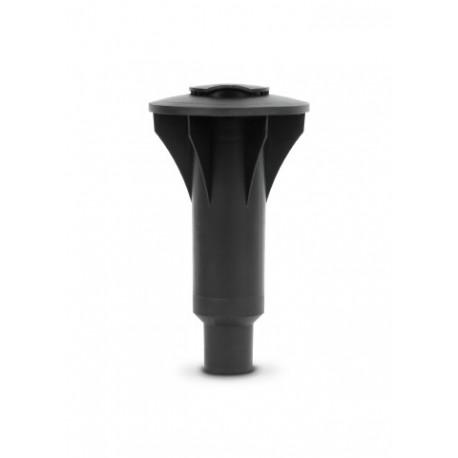 Tubo di fissaggio plastica 45 mm per Topspinner e Lift-O-Matic Nero 296789
