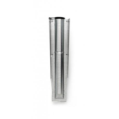 Tubo di fissaggio zincato 35 mm per Compact Silver 311420