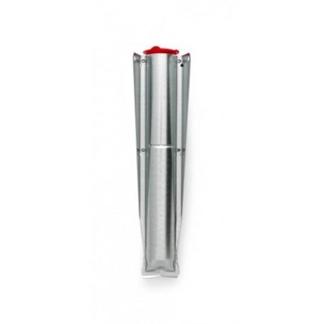 Tubo di fissaggio zincato 45 mm per Topspinner e Lift-O-Matic Silver 311444