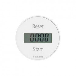 Magnetic Kitchen timer Bianco 103681