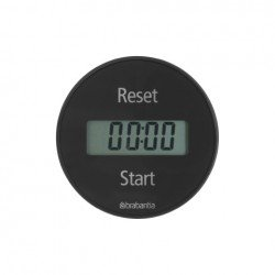 Magnetic Kitchen timer Grigio 103742