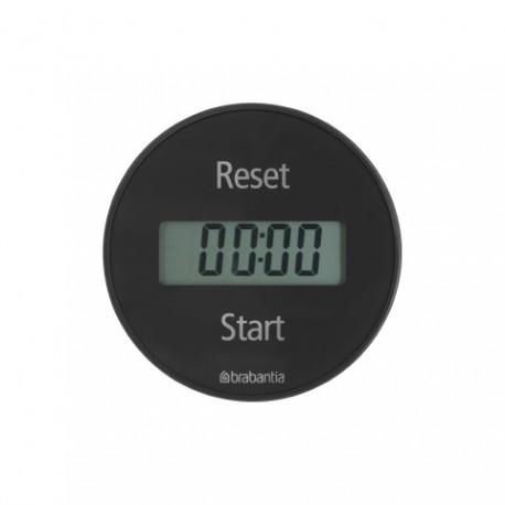 Magnetic Kitchen timer Grigio 103742