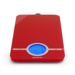 Bilancia da cucina digitale 1gr/5kg Essential Passion Red 480744