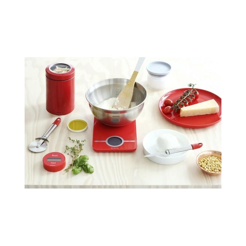 Brabantia bilancia da cucina digitale 1gr 5kg essential passion red - Bilancia da cucina digitale ...