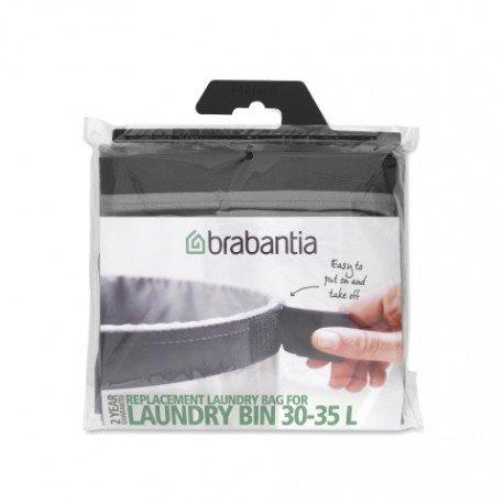 Sacco di ricambio per Laundry Bin 35L Grigio 102325
