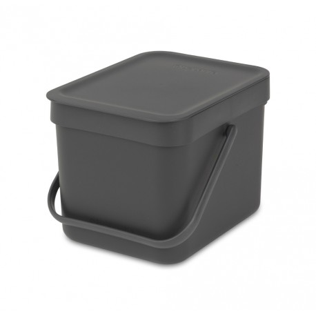 Sort & Go 6L Dark Grey 109720